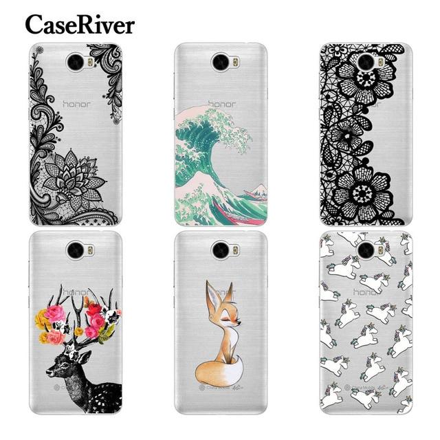 """CaseRiver Huawei Honor 5A LYO-L21 Soft Silicone Phone Case For Huawei Y5 II Y5II, Cover For Huawei Cun-U29 CUN-L21 CUN-L01 5.0"""""""