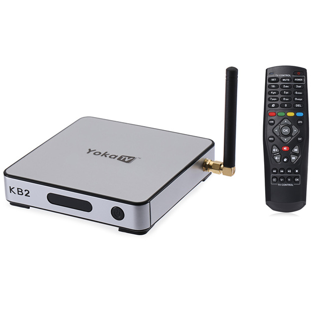 YOKA KB2 Tv Box Amlogic S912 Octa Core Android 6.0 2.4G 5G Dual Band WiFi 2G DDR3 RAM 32G eMMC ROM KODI 17.0  Set top Box Tv