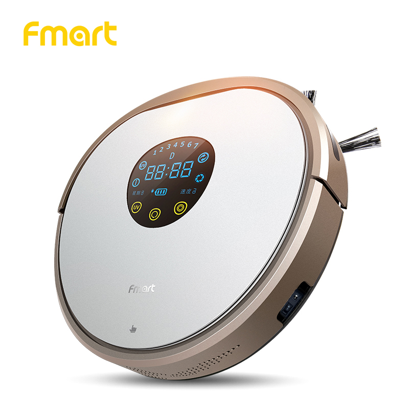 Fmart YZ V2 Robot Vacuum Cleaner UV Dust Sterilize 1000PA For Home Cleaning Appliance With Self