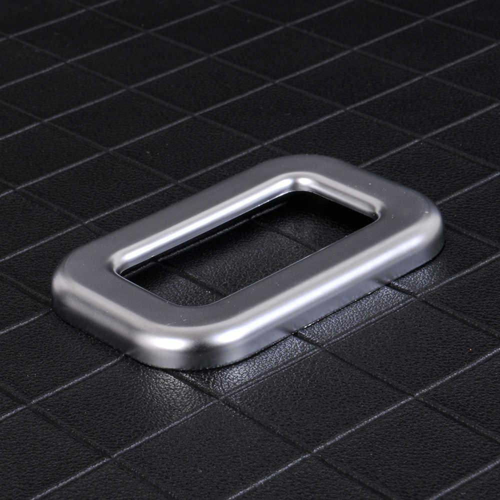 JEAZEA ABS Chrome Phía Sau Cửa Chuyển Đổi Thân Cây Nút Khung Bìa Trim đối với Phạm Vi Rover Thể Thao L494 EVOQUE 2014 2015 Cao chất lượng