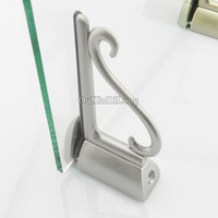 2PCS Adjustable Fish Mouth Clamp Glass Shelf F Type Board Glass Clamp Hardware Plate Clip Parts