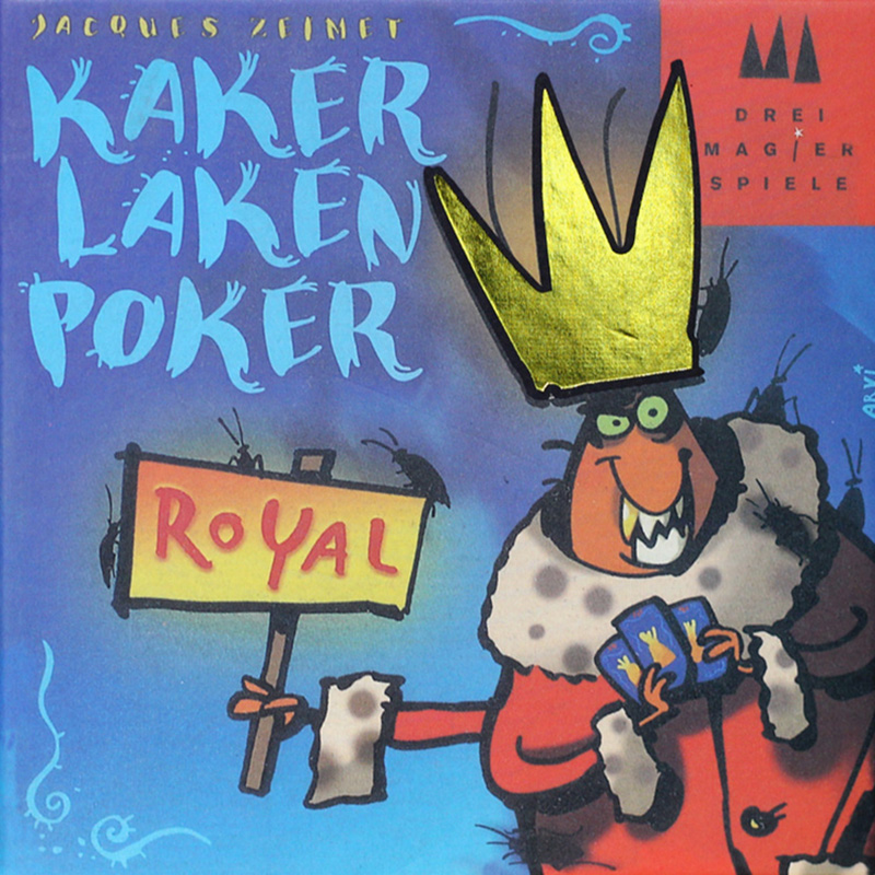 Kaker Laken Poker Board Game Royal Cards Game For Kids ,Send English Version Easy Board Game Free Shipping 2 3m vinyl custom children photography backdrops prop digital photography background jlt 7097