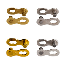 KMC original Bicycle Chain Link Missing Road MTB  6/7/8/9/10/11 speed one pair Gold Silver for Shimano