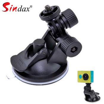Universal Mini Car Suction Cup Mount Tripod Holder Car Mount Holder for Car GPS DV DVR Xiaomi yi 4k Action Camera Accessories image