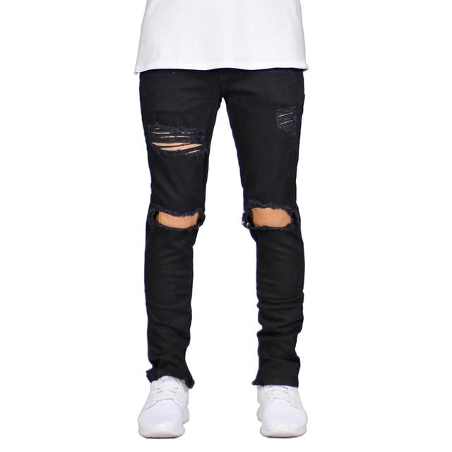 Ankle Zipper Skinny Jeans 10