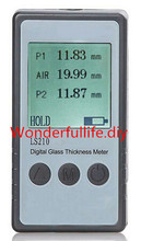 On sale LS210 Digital glass thickness meter,Glass Thickness Gauge