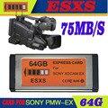 ESXS SXS 64 ГБ XDCAM EX Express Card Заменить SONY SBS-64GB SxS-1 EX1R/EX3R/EX280