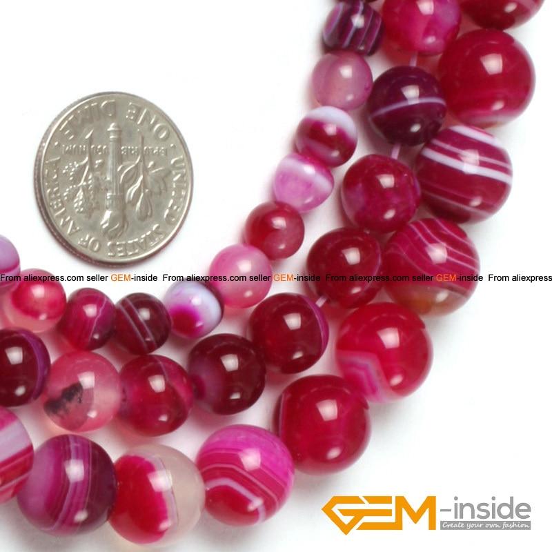 "Plum agate 6mm,8mm Round Gemstone Loose beads 15/"""