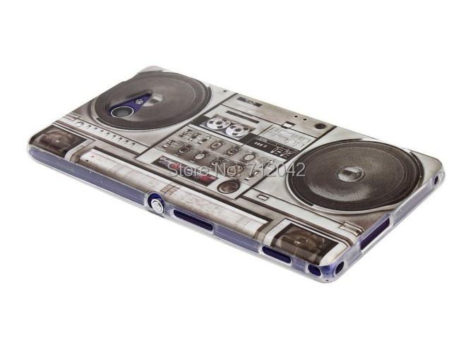 OEEKOI Retro kassettband Radiotryck Mjuk TPU-täckfodral för Sony - Reservdelar och tillbehör för mobiltelefoner - Foto 3