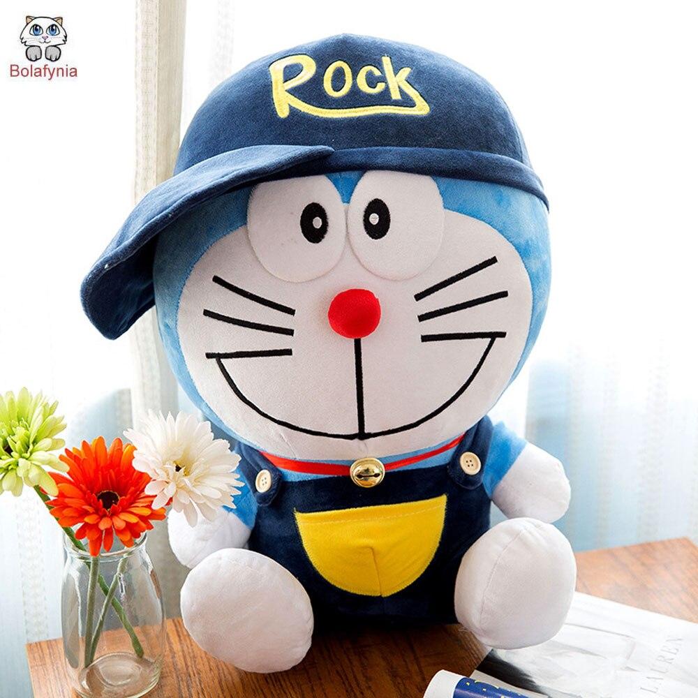 BOLAFINIA Doraemon Robot cat plush toys cartoon birthday gift children kids Christmas birthday stuffed toy gift