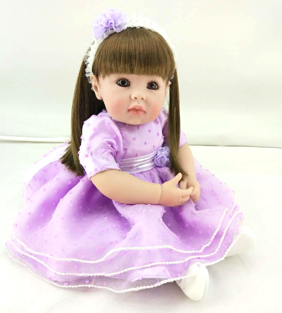 Big eyes cute baby Reborn Doll 51cm SIlicone Babies Newborn samll Princess Girls Lifelike Baby Dolls playing Toys Bebe Reborn D3Big eyes cute baby Reborn Doll 51cm SIlicone Babies Newborn samll Princess Girls Lifelike Baby Dolls playing Toys Bebe Reborn D3