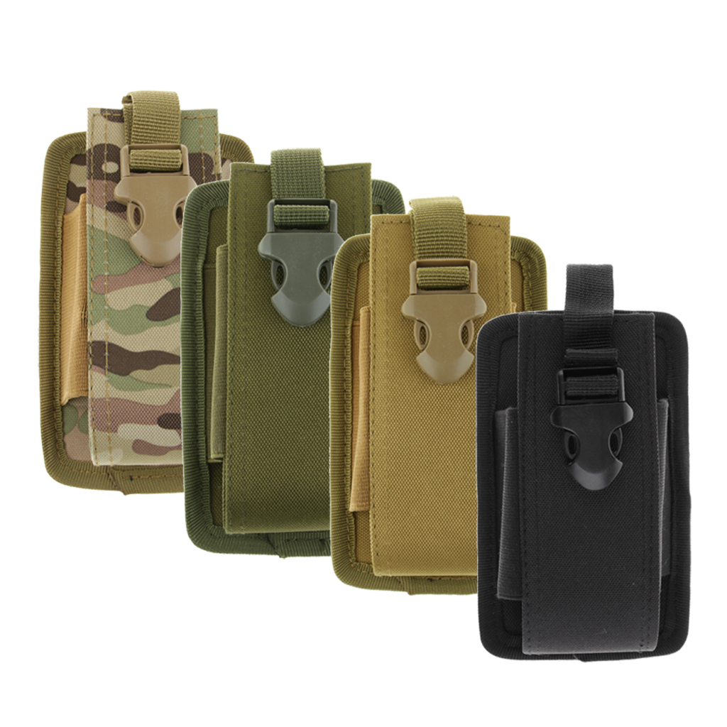 Molle Radio Walkie Talkie Pouch Holder Holster  Bag Pocket Large Size 4 Colors Talkie - Walkie Poche Bolsa Hunting Accessories