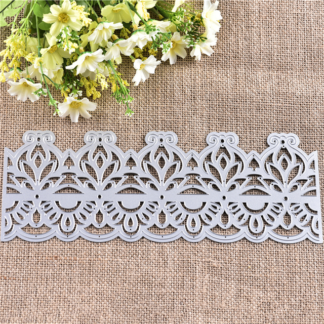 InLoveArts 2018 Lace Hollow Frame Metal Cutting Dies