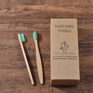 Image 3 - Пользовательский логотип 300 Pack зубная щетка с мягкой щетиной бамбуковой зубной щетки cepillo dientes натуральный эко бамбуковое волокно бамбуковая зубная щетка
