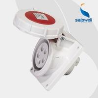 Wholesale IP67 waterproof electric socket 400V 16A 5 Pin female electrical pin socket contact EN / IEC 60309 2 SP1485