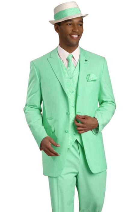 Green Men Suits Slim Fit Groom Tuxedos Casual Blazer 2 Piece Mens Beach Wedding Prom Dinner Party Suits terno masculino