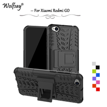 Xiaomi Redmi GO Case Shockproof Armor Rubber Silicone Hard Phone For Back Cover Fundas*