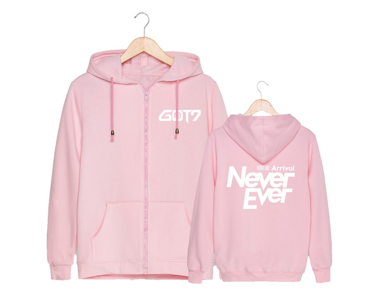 Online Buy Wholesale pink zip hoodie from China pink zip hoodie ...