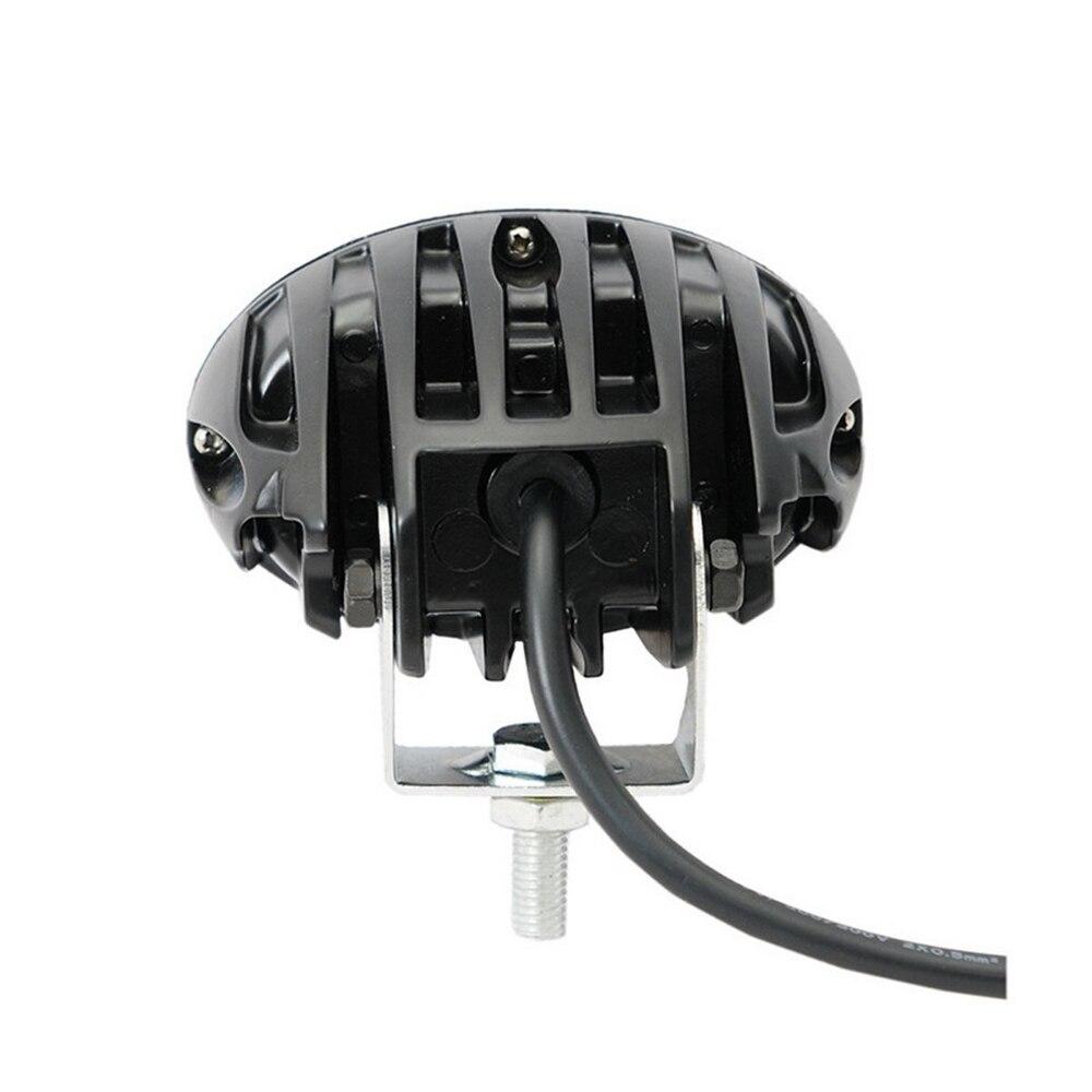1pcs Super Bright white Motorcycle Spot Light universal LED Headlights Fog Lamp DC 12V 24V Waterproof IP67 6000K 6D lens (1)