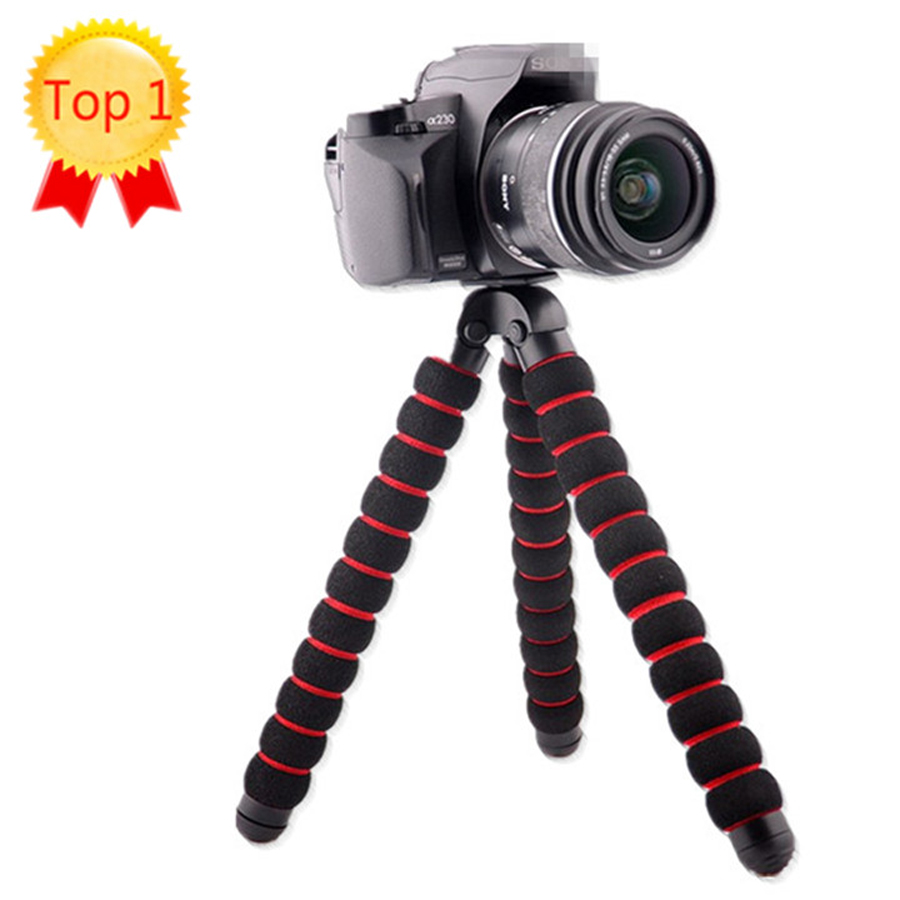 Large Size font b Camera b font Tripods Load Bearing to 5KG Gorillapod Type Monopod Flexible