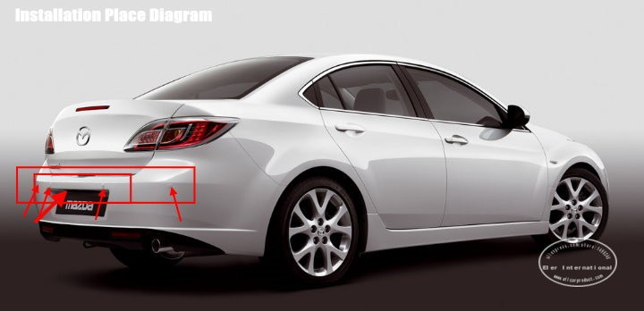 Mazda6-Mazda 6-2008-BIBI Alarm Parking System