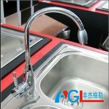 Прямые продажи медь раковина кран смеситель для кухни Медь холодной и горячей воды коснитесь CL-1 высокий бросок