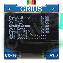 Crius CO 16 OLED Display screen module MWC MultiWii Flight Control Status Display Paremeter adjustment display