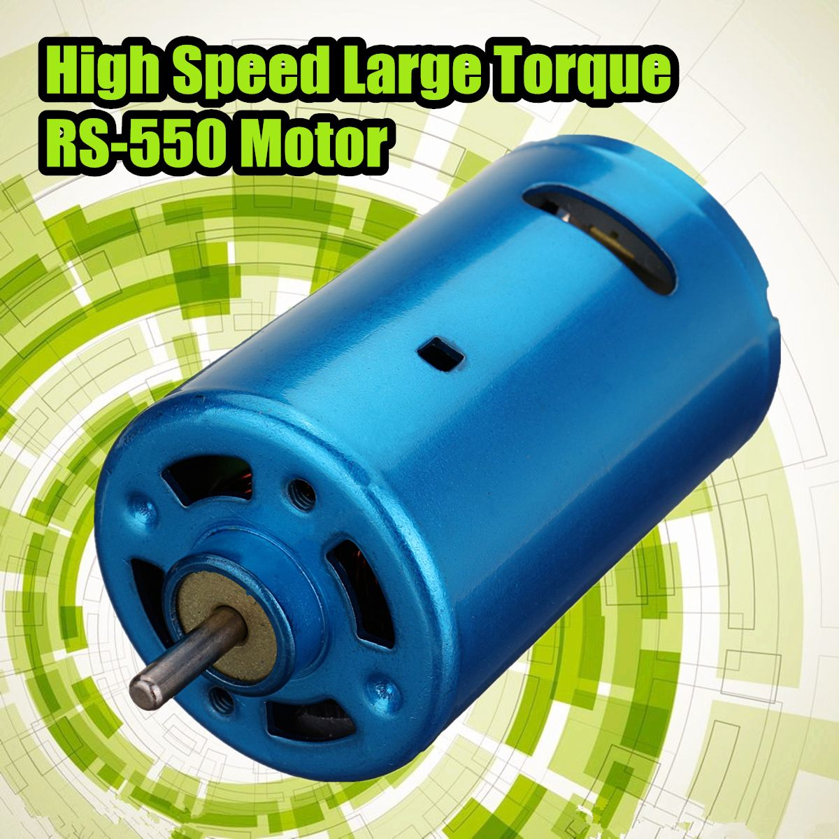 1pc RS-550 Motor DC 12V 24V 30000RPM with Lose Noise and Wear Resistance For RC Car Boat Model