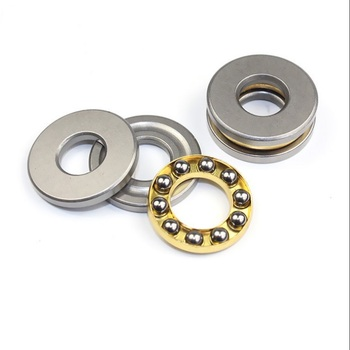 100pcs free shipping F12-23M Thrust Ball Bearing 12x23x7.5 mm miniature bearing Plane thrust ball bearing 12*23*7.5