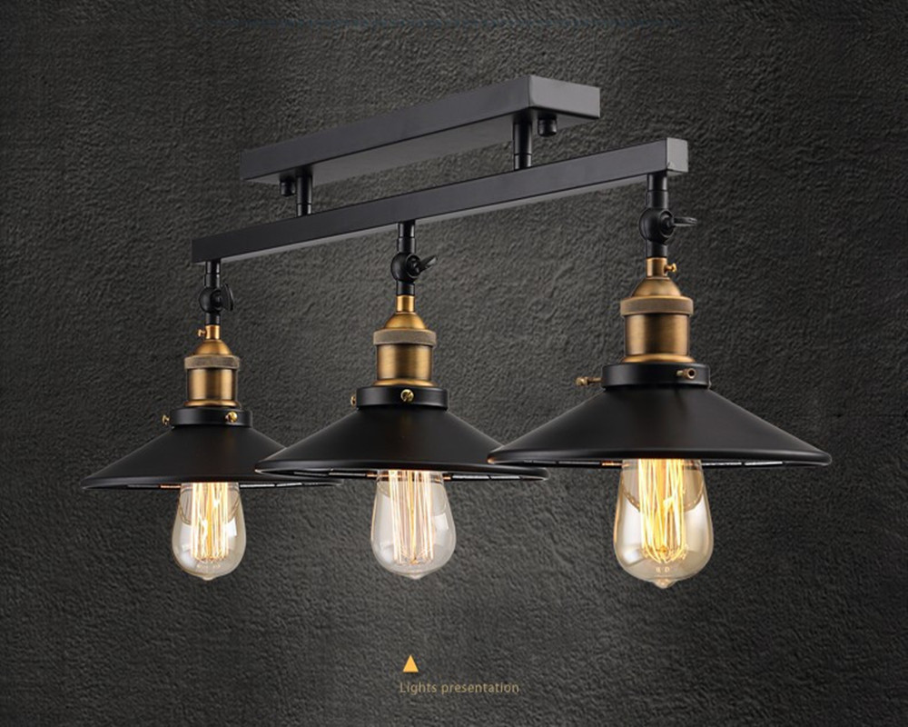 Loft Antique Ceiling Vintage Pendant Lights Industrial Home Decoration Lighting With E27 Edison Bulb for Dinning Room/Restaurant vintage loft industrial edison flower glass ceiling lamp droplight pendant hotel hallway store club cafe beside coffee shop