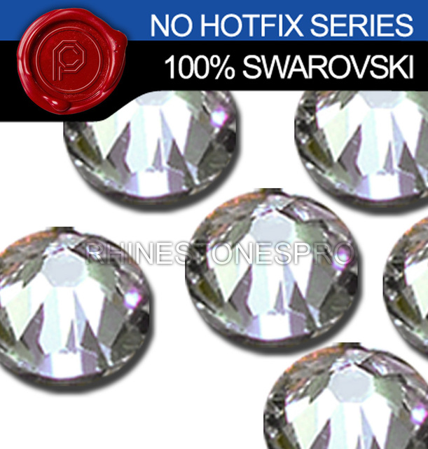 7789f5c10abe94 7ss Swarovski Elements Clear (001) 720 pcs Flat Back Crystal Stone ...