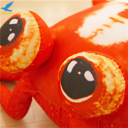 Fancytrader Jumbo Pop Anime Mantis Shrimp Plush Toy Giant Stuffed Soft Simulated Sea Animals Lobster Doll for Adult and Children (11)