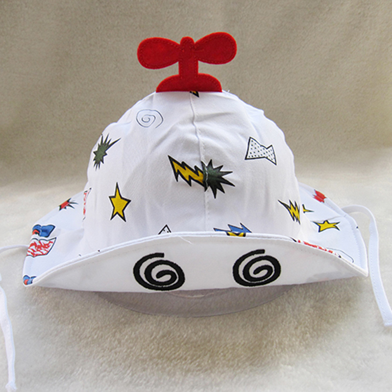 Baby bucket Hat UV cotton Hat boy girl baby Sun Hat ramping plane product name: baby bandana toddler Tulip Hat