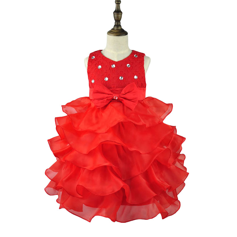 a54f4bb209 AiLe Rabbit Girls party wear clothing for children summer sleeveless lace  princess wedding dress girls teenage well party dress