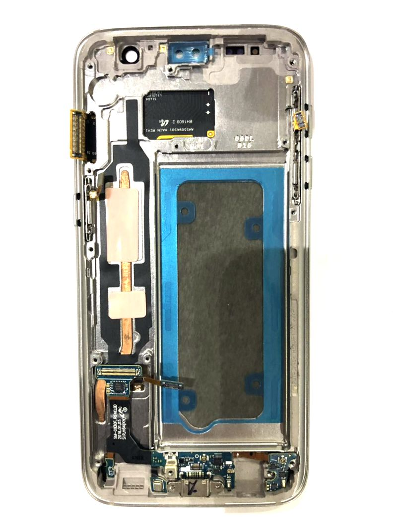 Amoled For Samsung <font><b>Galaxy</b></font> <font><b>S7</b></font> G930 <font><b>G930F</b></font> Lcd Screen <font><b>Display</b></font>+Touch Glass DIgitizer Frame Assembly Repair <font><b>s7</b></font> Amoled image