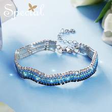 Special Fashion Gold Enamel Bracelets & Bangles Romantic Butterfly Multi-layer Jewelry Gifts for Women S1802C