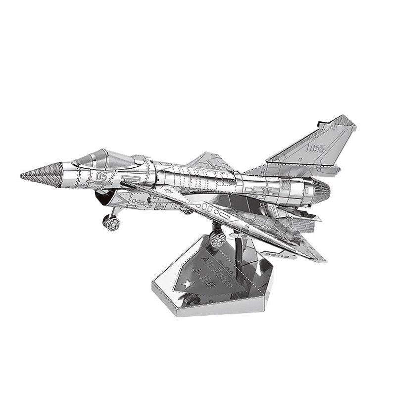 Nanyuan 3D Metal Puzzle Воздушные силы J-10B - Игры и головоломки