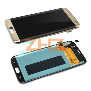 Image 4 - Amoled For SAMSUNG GALAXY S7 edge lcd display Touch Screen Digitizer assembly LCD digitizer G935 G935F with frame repair parts
