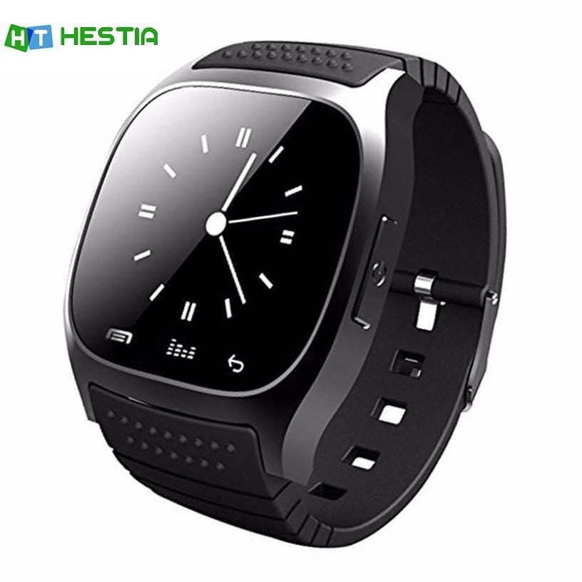 HESTIA M26 Montre Smart Watch pour hommes Avec Bluetooth Support de Montre-Bracelet SIM TF Carte Montres Intelligentes Pour Ios Android Téléphones PK DZ09
