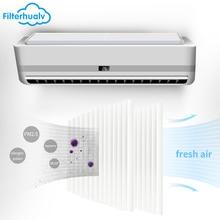 Filterhualv Air Purifier Conditioner Filter Cleaner PM2.5 Allergen Dust Pollen Pleated
