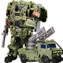 Brinquedos de transformação para crianças, filmes, 5, séries, plástico, abs + liga, anime, figura de ação, modelo, robô, carro, brinquedo, menino presente das crianças