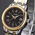 Famosa marca de lujo guanqin mujeres encanto relojes vida a prueba de agua calendario completo relojes completa de acero inoxidable reloj de pulsera