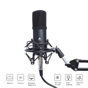 Image 4 - MAONO Professional 3.5mm Microphone Kit Condenser Microphone for Computer Audio Studio Vocal Rrecording Karaoke Mic
