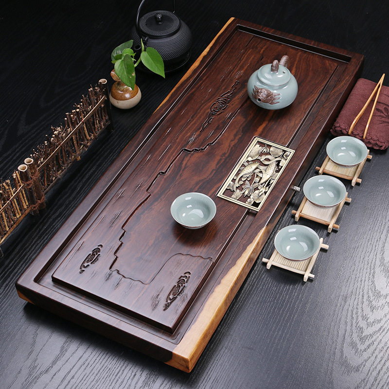 High Grade Ebony Tea Ceremony Table 1