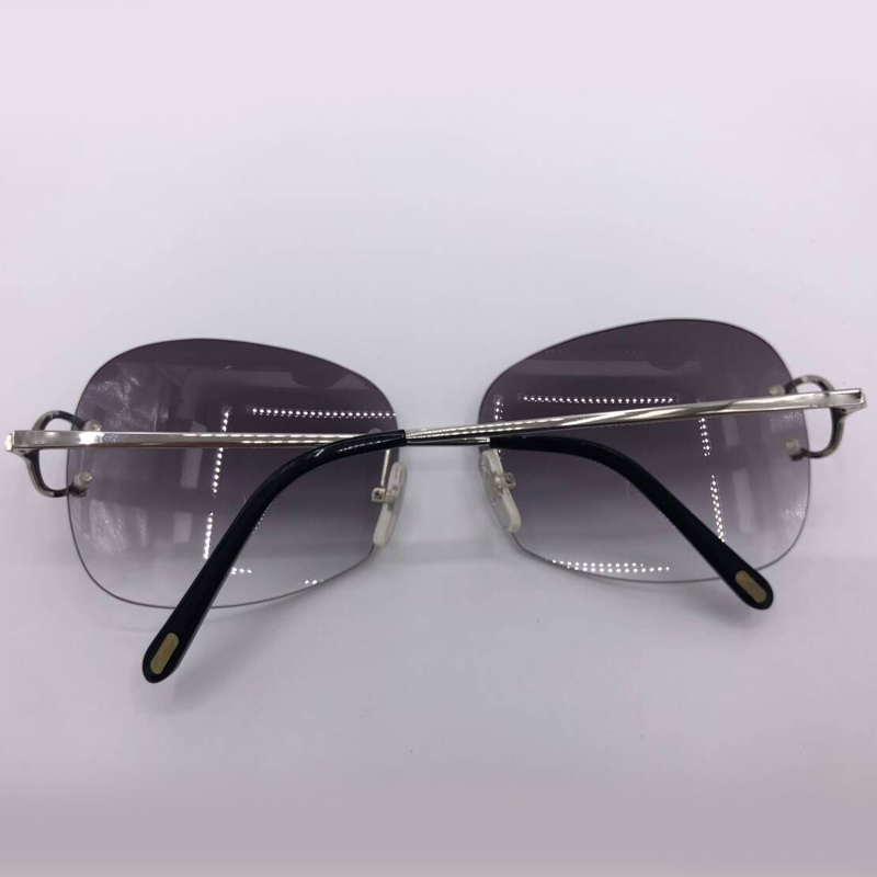 Feminino Oval Sunglasses De Sonnenbrille Für Gradienten Uv400 Oculos weniger Rahmen Marke Weibliche Damen Designer Objektiv Sol No1 pgqpxvw