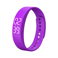 DATA NEW ! Best Price T5S Sports Calories Pedometer Smart Wristband Wristband Watch Bracelet For HUAWEI FOR LG top quality 21MAR