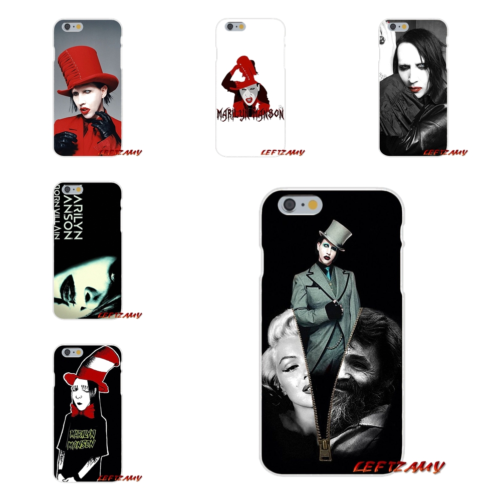For Motorola Moto G <font><b>LG</b></font> Spirit G2 G3 Mini G4 G5 K4 K7 K8 K10 V10 <font><b>V20</b></font> V30 Marilyn Manson <font><b>Accessories</b></font> <font><b>Phone</b></font> Shell Covers
