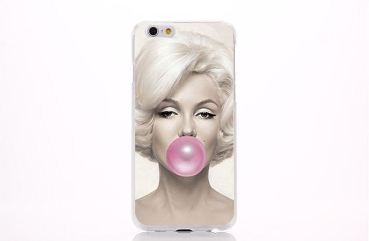 Wholesale-Sexy-Marilyn-Monroe-Picture-PC-Case-for-iPhone-5-6-6S-7-Covers-Protective-Phone