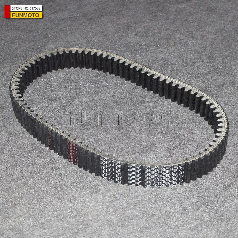 Dents courroie d'entraînement costume pour cfmoto atv CF500 600 VTT X5 X6 Z6, numéro de pièce 0180-055000-0004/0180-055000-0002 36.7X939