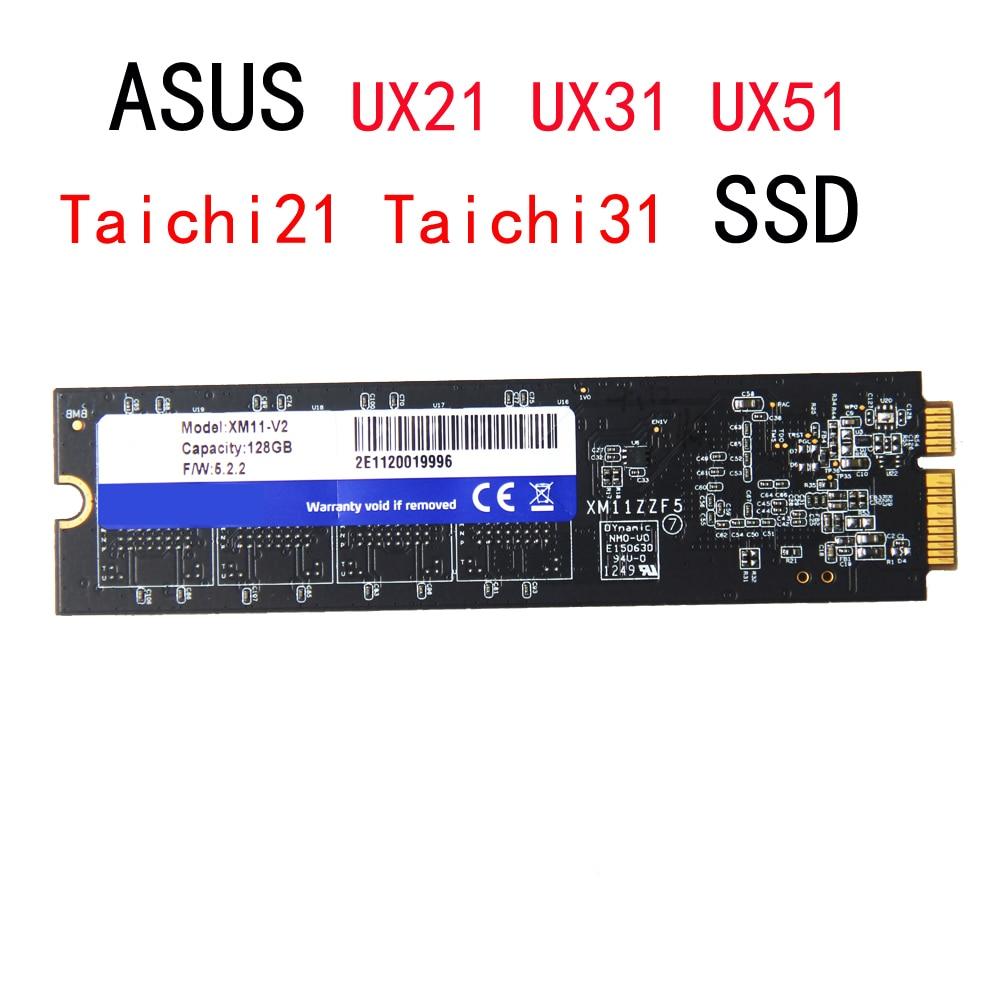 Nouveau disque dur 128 GB 256 GB pour ASUS TAHCHI21 TAICHI 21 31 UX21 UX31 UX51 SSD ordinateur portable Hdd XM11 remplacer SD5SE2 SDSA5JK